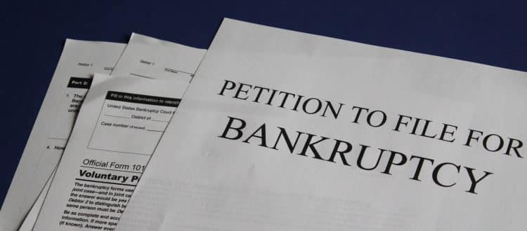 Documents relating to mortgages for discharged bankrupts